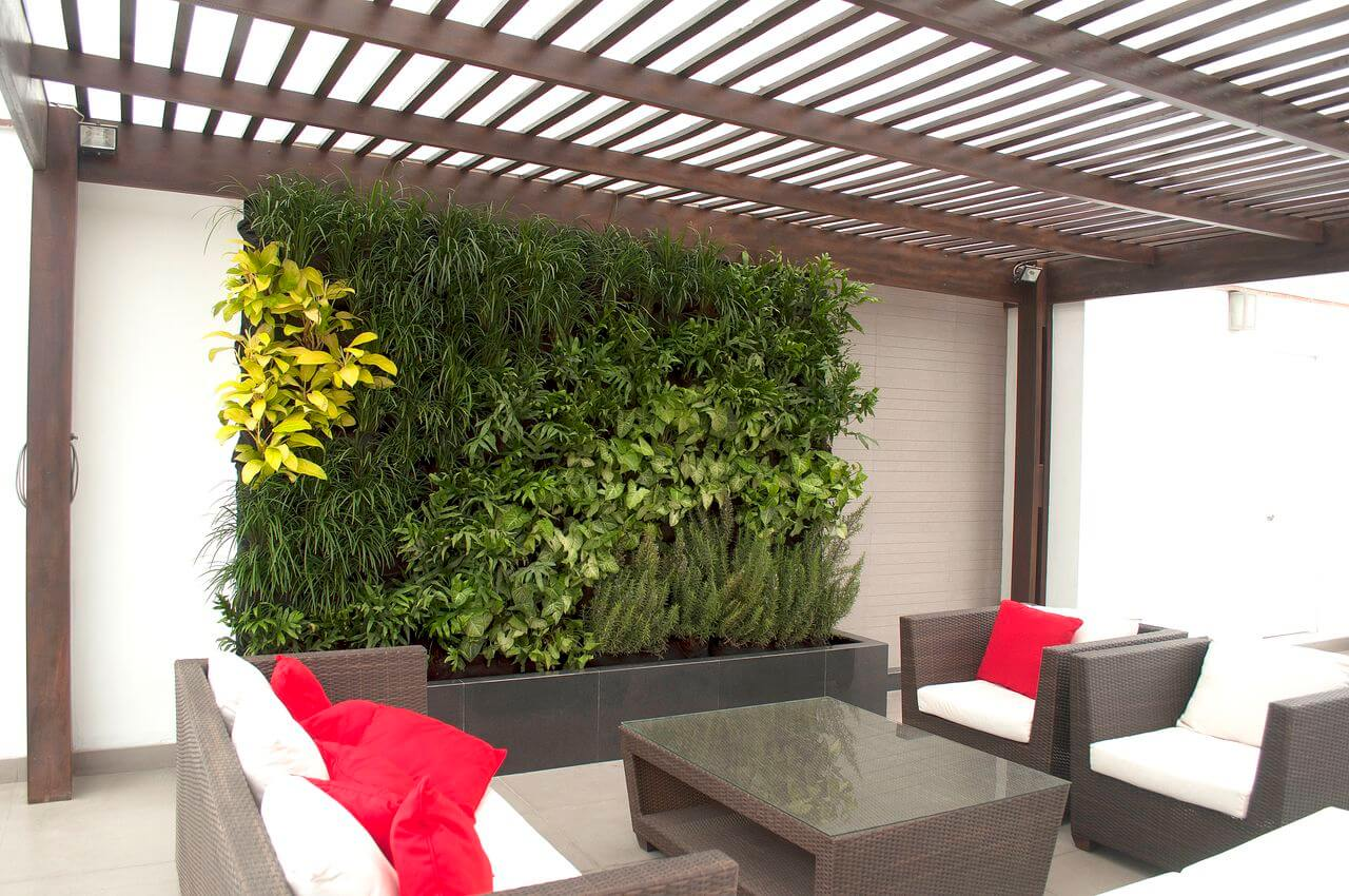 Jardines verticales gania - Muros decorativos para interiores ...